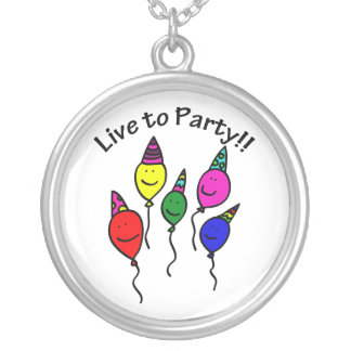 Live to Party Pendants