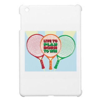 Live to play born to win cover for the iPad mini