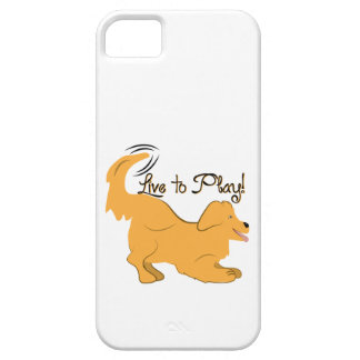 Live To Play Case For iPhone 5/5S