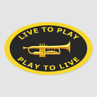 Live To Play Play To Live Stickers