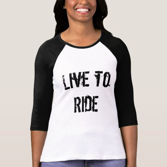 Live to Ride BMX T-Shirt