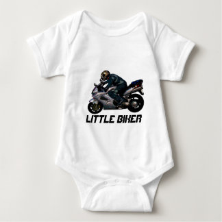 Live To Ride Motorbiker Baby Bodysuit