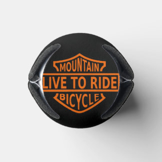 Live to Ride Mountain Bike coozie