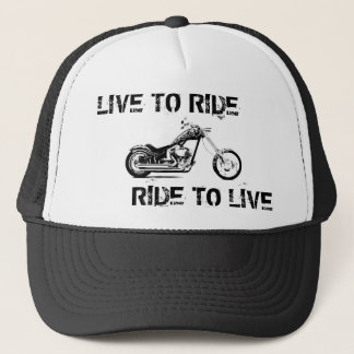 Live to ride, Ride to live Trucker Hat