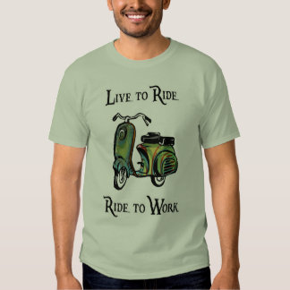Live To Ride - Ride To Work Tee Shirts