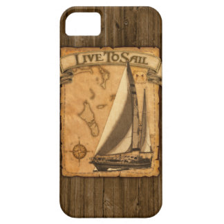 Live To Sail iPhone 5 Cases