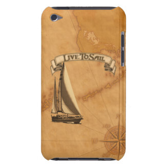 Live To Sail iPod Touch Case
