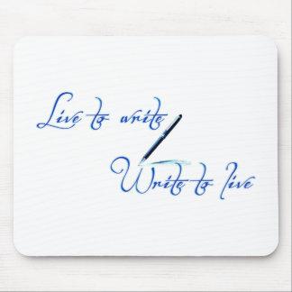 Live to Write Mousepad