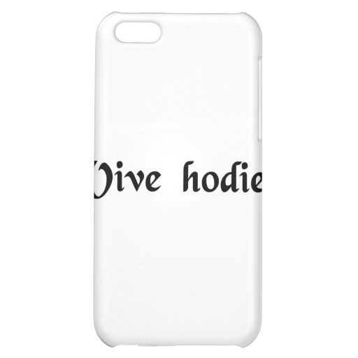 Live today. case for iPhone 5C