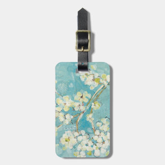 Live Turquoise Luggage Tag