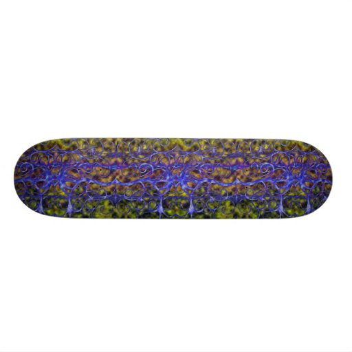 Live Vine Neon Skateboard
