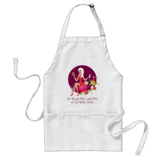 Live Well, Love Much Standard Apron