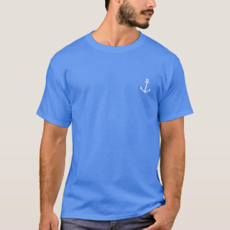 Live Where You Vacay Men's Blue Shirt