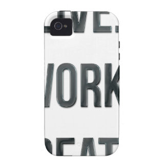 Live Work Create iPhone 4 Case