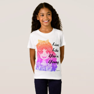 Live Young by Taylor Wolfe T-Shirt