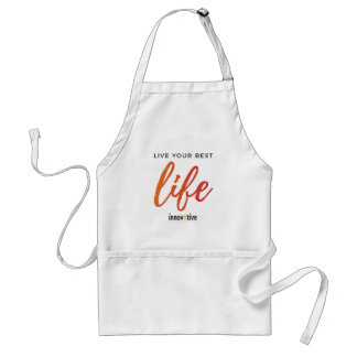 Live Your Best Life Standard Apron