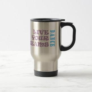 Live Your Dance Dreams Travel Mug