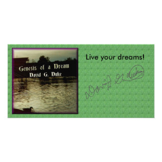Live your dreams! photo cards