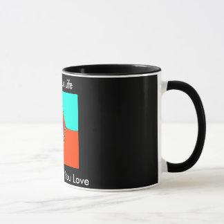 """LIVE YOUR LIFE"" 11 Oz. MOTIVATIONAL COFFEE MUG"