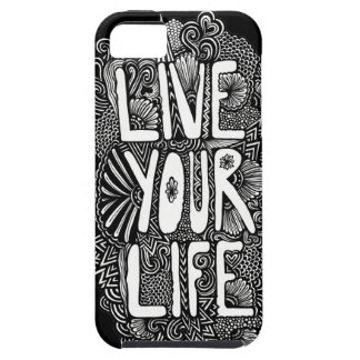 Live Your Life iPhone 5 Covers
