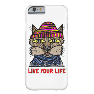 """""""Live Your Life"""" Glossy Phone Case"""