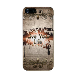 Live your life incipio feather® shine iPhone 5 case