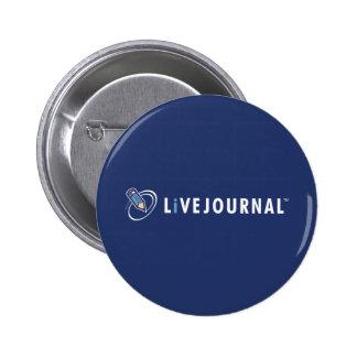 LiveJournal Logo Horizontal 6 Cm Round Badge
