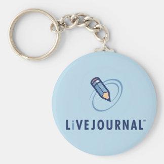 LiveJournal Logo Vertical Key Ring