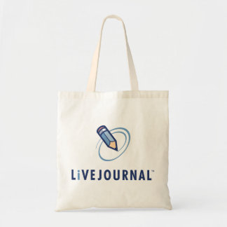 LiveJournal Logo Vertical Tote Bag