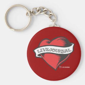 LiveJournal Tattoo Key Ring