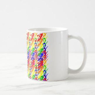 Lively Multicolored Pattern Mug