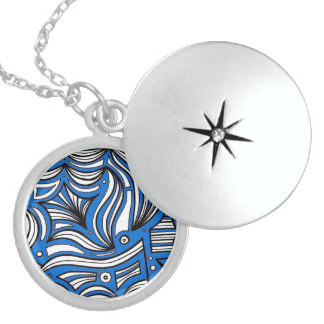 Lively Respected Sympathetic Lucky Round Locket Necklace