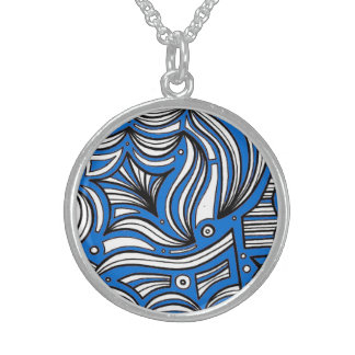 Lively Respected Sympathetic Lucky Round Pendant Necklace