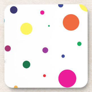 Lively stippels! drink coasters