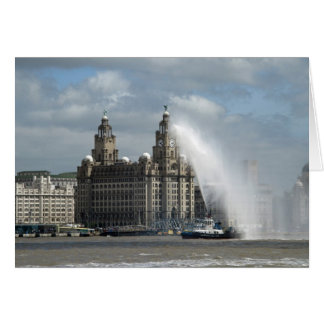 Liver Building - Liverpool Greeting Cards