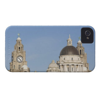 Liver Building, Liverpool, England iPhone 4 Cover