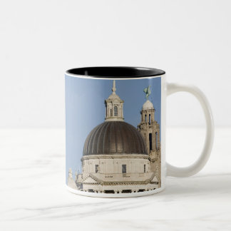 Liver Building, Liverpool, England Two-Tone Coffee Mug
