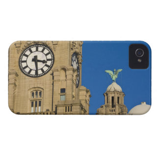 Liver Building, Liverpool, Merseyside, England iPhone 4 Cases