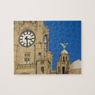 Liver Building, Liverpool, Merseyside, England Jigsaw Puzzle