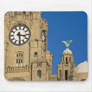 Liver Building, Liverpool, Merseyside, England Mouse Pad