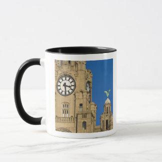 Liver Building, Liverpool, Merseyside, England Mug