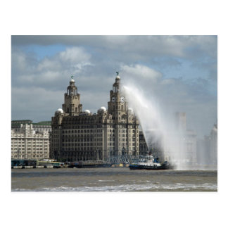 Liver Building Liverpool - Postcard