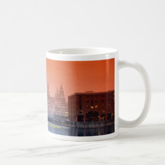 Liver buildings from Albert Dock Complex, Liverpoo Coffee Mug