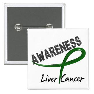 Liver Cancer Awareness 3 15 Cm Square Badge