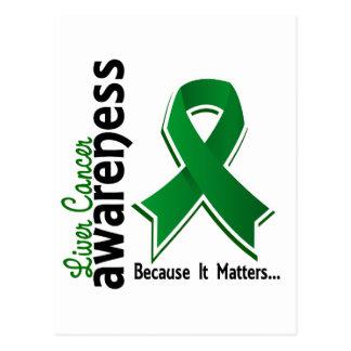 Liver Cancer Awareness 5 Postcard