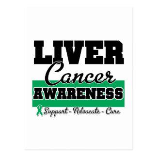 Liver Cancer Awareness Post Card