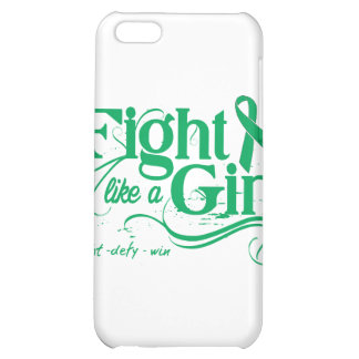 Liver Cancer Fight Like A Girl Elegant iPhone 5C Cover