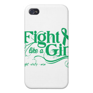 Liver Cancer Fight Like A Girl Elegant iPhone 4/4S Case
