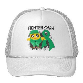 Liver Cancer Fighter Chick Grunge Trucker Hat