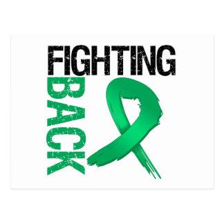 Liver Cancer Fighting Back Postcard